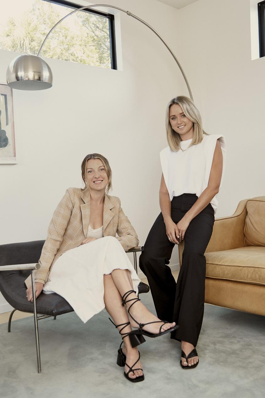 Julia Lomas and Simone Kerr